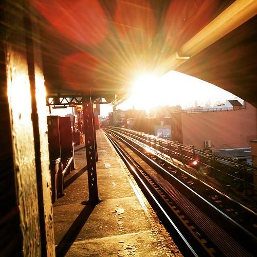 #nyc #sunset #praiseHelios #om
