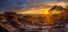 Pulpit Sunset - MOUNT VICTORIA (Gary Hayes) Tags: sunset australia bluemountains pulpitrock mountvictoria kanimbla