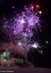 Fireworks /Fyrverkeri (Hans Olofsson) Tags: fireworks sweden suede happynewyear kalmar fyrverkeri gottnyttr barometern