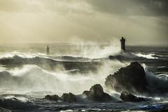 Tempête Christine 03 mars 2014 (Ronan Follic) Tags: sea mer lighthouse seascape storm france landscape brittany bretagne breizh phare bzh tempête