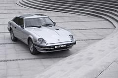 Datsun 280ZX (przezpryzmat.pl) Tags: auto old classic monochrome car japan silver grey nikon nissan oldschool cult jdm datsun stance 280zx samochd zabytek klasyk d300s