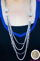 5th Avenue Silver K2 Necklace P2220-5