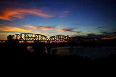 Bridge At Sunset (Samtian) Tags: bridge sunset arizona arizonapassages