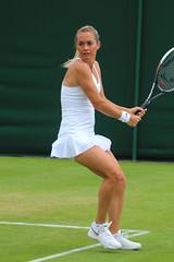 The 128th Championships Wimbledon 2014 - Klara Koukalova (Cze) (Andy2982) Tags: tennis wimbledon doubles aut rou firstround allenglandlawntennisclub cze court7 ralucaolaru monicaniculescu sandraklemenschits klarakoukalova the128thchampionshipswimbledon2014