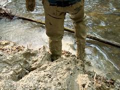 IM000424 (hymerwaders) Tags: new wet muddy waders matsch nass watstiefel