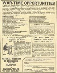 Wartime Engineering Opportunities Advert (Kitmondo.com) Tags: old colour history industry metal work vintage advertising photo war industrial factory technology tech image working machine engineering advertisement machinery advert labour historical kit date press engineer publication wartime metalworking dated oldadvert oldwriting oldliterature oldpublication wartimeengineering equipmentadvert machinerypublication