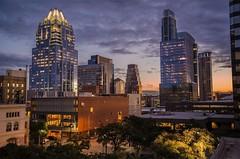 Austin turns 175 (ManWellGarza) Tags: sunset austin downtown texas travis 512 atx tejas
