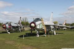 Midland Air Museum - English Electric Lightning T55 & English Electric Lightning F6 - 55-713 & XR711 (lynothehammer1978) Tags: midlandairmuseum coventryairport englishelectriclightningf6 xr771 55713 zf598 englishelectriclightningt55