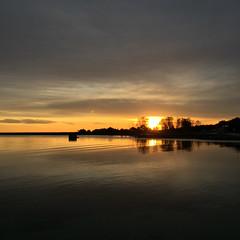 Sunset Hllviken (Hkan Dahlstrm) Tags: sunset sky orange photography se skne sweden f22 uncropped hllviken iphone 2014 skneln falsterbokanalen iphonephoto sek iphone6 iphone6backcamera415mmf22 vellinges 1928122014152419