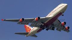 Air India B747-700 VT-ESO Khajuraho (Aiel) Tags: bombay boeing mumbai b747 airindia khajuraho b747400 vteso
