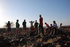 Kenia. Entre Loyangalani y Kalacha. Una charca en el desierto (escandio) Tags: lago kenia 2014 turkana loyangalani viajealturkana