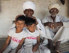 3 generations of Bishnoi (DarkLantern) Tags: india indien rajasthan inde jodhpur   bishnoi khejarli jambhaji jambeshwar guravishnoiyan