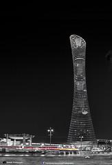 The Torch tower - Villagio (YOSHIKA      4) Tags: longexposure blackandwhite white b