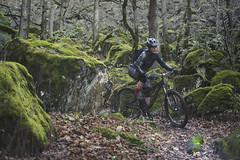 Navigating mossy monsters (gabriel amadeus) Tags: mountain bike oregon river washington mountainbike columbia trail biking mtb gorge mountainbiking pnw hoodriver cascadia bingen whitesalmon