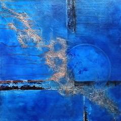 summer moon (Birgit.Riemann) Tags: summer moon art mond paint acrylic modernart sommer kunst paintings canvas birgit acryl mixmedia 2014 malerei leinwand gemälde riemann zeitgenössischekunst acrylbild acrylbilder acrylart birgitriemann