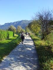 in cammino verso Civate