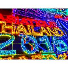 ส่งสุขสุดท้ายปี2557 ต้อนรับปีใหม่2558 #THAILAND #Fotor