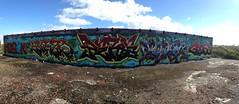 Moron Enero Peros Yoder Ghost (Garbage Pail Kid) Tags: graffiti und pi af ck atb ase tfn