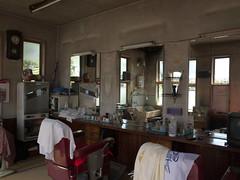 pink barber house (tetsuo5) Tags: gr yamanashi 理髪店 山梨県 explored oshinomura 忍野村 忍草 tsurugun 都留郡 shibogusa
