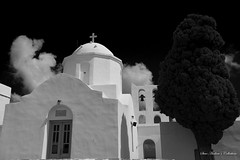 Ag. Andreas (Steve Androu) Tags: blackandwhite bw churches hellas greekislands sifnos