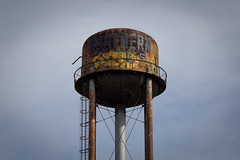 watertower (codography) Tags: tower water paint watertower detroit rost grafity