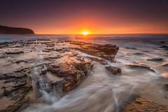 Turimetta Colour Bomb 2 (Ian Moore Photo) Tags: colour beach sunrise nikon rocks surf sydney d800 waterflow turimetta