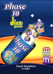 Magmic + Mattel Phase 10 Dice (lezumbalaberenjena) Tags: art ads corporate design marketing video media graphic 10 social games images phase branding logotype magmic