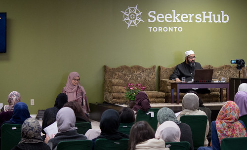 "Shaykh Yahya Rhodus at SeekersHub, Toronto and Seminar Series: Worship, Coffee and The Meaning of Life • <a style=""font-size:0.8em;"" href=""http://www.flickr.com/photos/88425658@N03/26746108602/"" target=""_blank"">View on Flickr</a>"