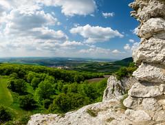 Plava viewed from Waisenstein Castle (The Adventurous Eye) Tags: landscape reserve biosphere unesco area protected plava oblast chko krajinn chrnn