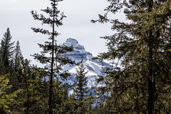 Mountains surrounding Johnston Canyon, Banff, Alberta (Jim 03) Tags: blue lake snow mountains ice wall creek river melting path turquoise jim canyon louise covered alberta bow banff icicles johnston jimhoffman jhoffman jim03 wwwflickrcomphotosjhoffman2013 wwwjimahoffmancom