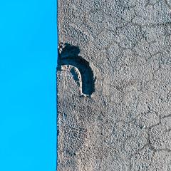 Texture (HKangas) Tags: blue texture square concrete grey minimalism