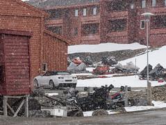 Svalbard 2016-1227 (Cal Fraser) Tags: car norway gm convertible camaro svalbard arctic sj ragtop longyearbyen spitzbergen softtop svalbardandjanmayen