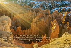 Bryce Canyon lightburst (TAC.Photography) Tags: utah brycecanyon sunrays scripture natiojnalparks