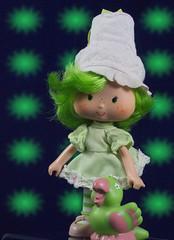 Lime Chiffon (CptSpeedy) Tags: green fashion fruit strawberry friend ballerina doll sweet parrot american kenner greeting shortcake