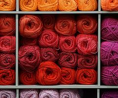 A load of balls (SteveJM2009) Tags: uk colour wool shop knitting nine may balls shelf yarn dorset haberdashery stevemaskell 2016 beales