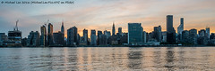 Midtown Sunset (DSC06888) (Michael.Lee.Pics.NYC) Tags: sunset newyork cityscape sony eastriver longislandcity midtownmanhattan gantryplazastatepark a7rm2 zeissloxia21mmf28