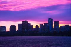 Sunrise Surprise (slange789) Tags: boston skyline sunrise