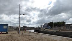 View to Bentinck Dock (yellow book) Tags: norfolk lynn northsea kingslynn riverouse greatouse hanseaticleague thewash