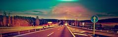 Road (simbiosc) Tags: road travel skyline arcoiris atardecer raimbow simbiosc simbiosctv