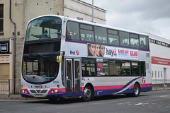 First Eastern Counties 32629 KP54KAX (Will Swain) Tags: great yarmouth 14th may 2016 bus buses transport travel uk britain vehicle vehicles county country england english norfolk south east town first eastern counties 32629 kp54kax