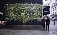 Le blues du dentiste (HBA_JIJO) Tags: street urban streetart paris france art monster wall painting graffiti artist teeth spray peinture bouche rue mur dents mostro monstre ppa nosb hbajijo