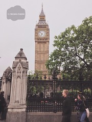 ( Black Orchid ) Tags: people london clock westminster alone time cloudy walk bigben