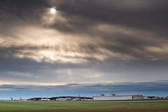 Farewell (jlr_keys) Tags: sky sun sunshine airplane flying airport aircraft terminal colorsinourworld