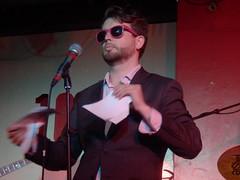 Sexy KC 27/06/16: Thom Tuck (Diamond Geyser) Tags: show musician gig onstage 100club princetribute thomtuck karaokecircus sexykc