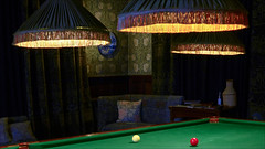 Billiards (kate willmer) Tags: house table lights room billiards nationaltrust wolverhampton whitewickhouse