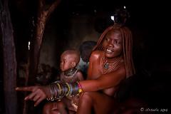 Mother and Child 8688 (Ursula in Aus - Away) Tags: africa himba namibia otjomazeva environmentalportrait