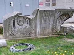 Remnants of the Theodosian Hagia Sophia (5th century) (sixthland) Tags: turkey istanbul hagiasofia ayasofya rx100m2