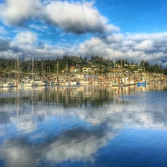 Newport Oregon Bayfront (Tina Stadeli) Tags: