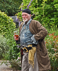 A Pirate with a Pint!!!! (MWBee) Tags: pirate rossonwye herefordshire pint musket mwbee d750 nikon