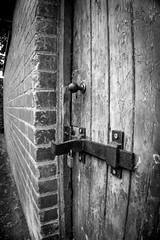 Locked (Charlie Little) Tags: bw macro locked padlock carlisle cumbria creative sony a6000